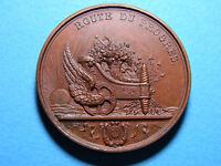 1836 Belgium Railway Inauguration Medal  By Hart - Excellent Crisp Details