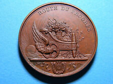 1836 Belgium Railway Inauguration Medal  By Hart - Excellent Crisp Details