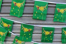 Australian Boxing Kangaroo 30 Flags 9 Metres Long Flag Banner String Bunting