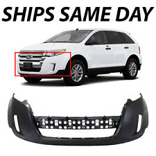 New Primered Front Bumper Cover Fascia Replacement For   Ford Edge Suv