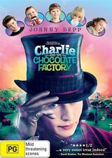 Charlie And The Chocolate Factory (DVD, 2010, 2-Disc Set)
