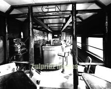 """1960 GN Great Northern Railroad - Ranch Car - Interior View """"Empire Builder"""""""