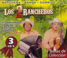 Los 2 Rancheros Ranchera,Banda,Corrido 3CD New sealed Box set Nuevo