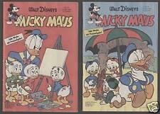 Micky Maus 1958: 1 - 51 komplett gut erhalten Original Ehapa Originalhefte