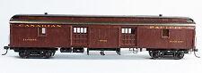 CANADIAN PACIFIC WOOD BAGGAGE CAR Metal Wheels HO Model Railroad Unptd Kit SPK43