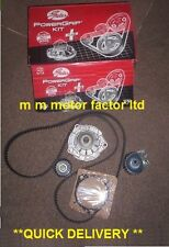 VAUXHALL ZAFIRA H MK2 1.9 CDTi GATES 150BHP TIMING CAM BELT KIT WITH WATER PUMP