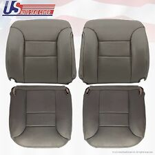 1995 To 1999 K3500 Front Driver & Passenger top Lean Back & Bottom Covers Gray