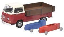 450333800 Schuco 1 43 VW T2a mit Seifenkisten