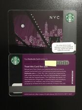 "**BRAND NEW** MINT Starbucks Card 2010  2011 NYC New York City ""City Lights"""