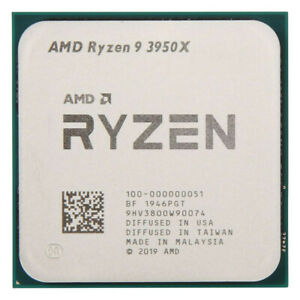 AMD Ryzen 9 3950X Desktop Processor (4.7GHz, 16 Cores, Socket AM4) -...
