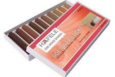 New SOFT WAX STICK ASSORTMENT WOOD FILLER STICKS Pack of 10 Oak shades HAFELE