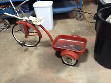 Vintage Original  Cycle Tricycle Wagon / Pedal Wagon - Rare!