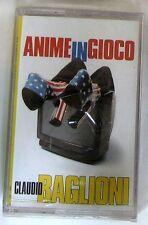 CLAUDIO BAGLIONI - ANIME IN GIOCO - Musicassetta Sigillata