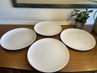 Set of 4 Ikea of Sweden 120 11 White Dinner Plates-10 1/2""