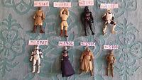 figurines star wars diverses (B) kenner hasbro à l'unité
