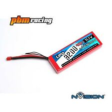 NVision Sport 3200 11.1 V 3 S 45 C Lipo RC Batteria HARD CASE DEANS CONN NVO1115