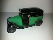 DINKY TOYS TAXI AVEC CHAUFFEUR 36 G