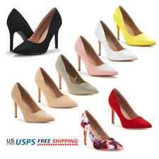 Womens Stilettos High Heel Pump Shoes Wedding Party Slip On Dress Pump Shoes