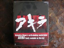 Akira Blu Ray 32-Page Color Booklet And Special Slipcase First Issue SEALED!!