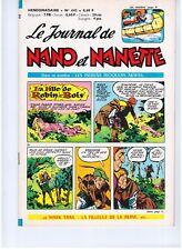 """REVUE BD """"NANO ET NANETTE no 443"""" (1965) MARIJAC / LERALLIC..."""