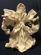 Angel Christmas Tree Topper With Dove New Top Xmas Treasure island Collection