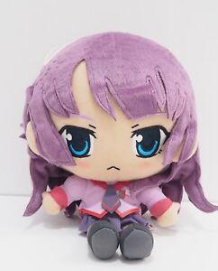 "Bakemonogatari Hitagi Senjougahara Banpresto DX 2011 Plush 11"" Toy Doll Japan"