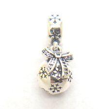 Authentic S925 Pandora Christmas Ornament Dangle Charm 791410CZ