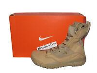 "Nike SFB Field 2 8"" Desert Military Combat Boots Brown Khaki AO7507-200 Size 10"