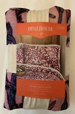 "Velvet Pillow Sham - Opalhouse - Love in a Mist - Standard 26x20"" Purple Floral"