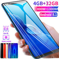 "5.5"" HD SmartPhone 4+32GB Android Mobile Octa Core Dual SIM WiFi Unlocked NEW"