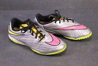 SB404 Nike Hypervenom Phelon Premium TF Fußballschuhe Indoor Gr. 37,5 silber