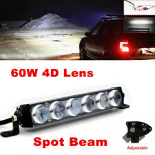"7"" LED Work Light Bar Spot Light Offroad 4WD Boat ATV UTV Fog Driving Lamp 12V"