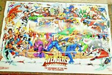 The Avengers No Surrender Double-Sided Poster 2018 Marvel Comics Thor Hulk Loki