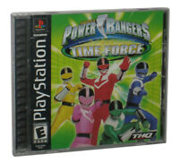 Power Rangers Time Force PlayStation 1 Video Game