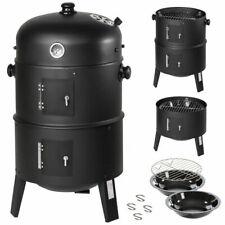 Barbecue a Legna e Carbonella BBQ Affumicatore con Indicatore di Calore