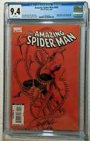 Marvel Comics Amazing Spider-Man 600 CGC 9.4 (2009) Alex Ross cover 1st Print