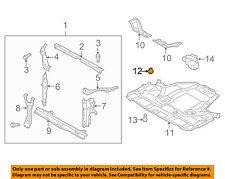 SUBARU OEM 03-16 Forester Front Bumper-Bumper Cover Clip 909140007