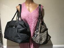 2 Tommy Hilfiger Black & Black/Taupe Satchel & Hobo Handbags
