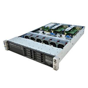 HP ProLiant DL380P G8 Server 2x E5-2670 2.60Ghz 16-Core 96GB P420 512MB