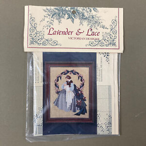 Sweet Dreams Cross Stitch Design Chart Lavender & Lace mother & baby new sealed