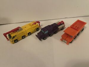 Transformers G1 Micromasters Combiner Construction Squad Complete Authentic 80s