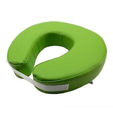 Medirex Massage Fitted Crescent Face Pillow Massage Face Cradle Cushion Green