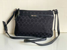 NEW! NINE WEST BLACK CROSSBODY MESSENGER SLING BAG PURSE SALE