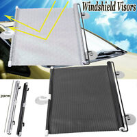 Auto Car Retractable Block Windshield Rear Window Mesh Curtain Sun Shade