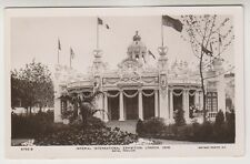 Imperial International Exhibition, London 1909 postcard - Royal Pavilion - RP