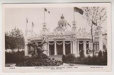 Imperial International Exhibition, London 1909 postcard - Royal Pavilion - RP