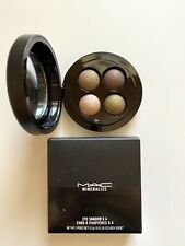 "MAC Mineralize Eye Shadow X 4 Quad ""A Harvest Of Greens"" — New In Box"