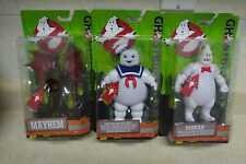 NEW Ghostbusters Figure LOT Stay Puft, Rowan and Mayhem Figures Mattel 2016