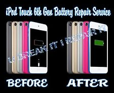 iPod Touch 6th Generation Battery Repair Service