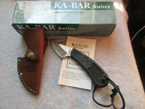 KA BAR PRECISION HUNTER W GUT HOOK NEW OLD STOCK USA MADE MODEL 1441